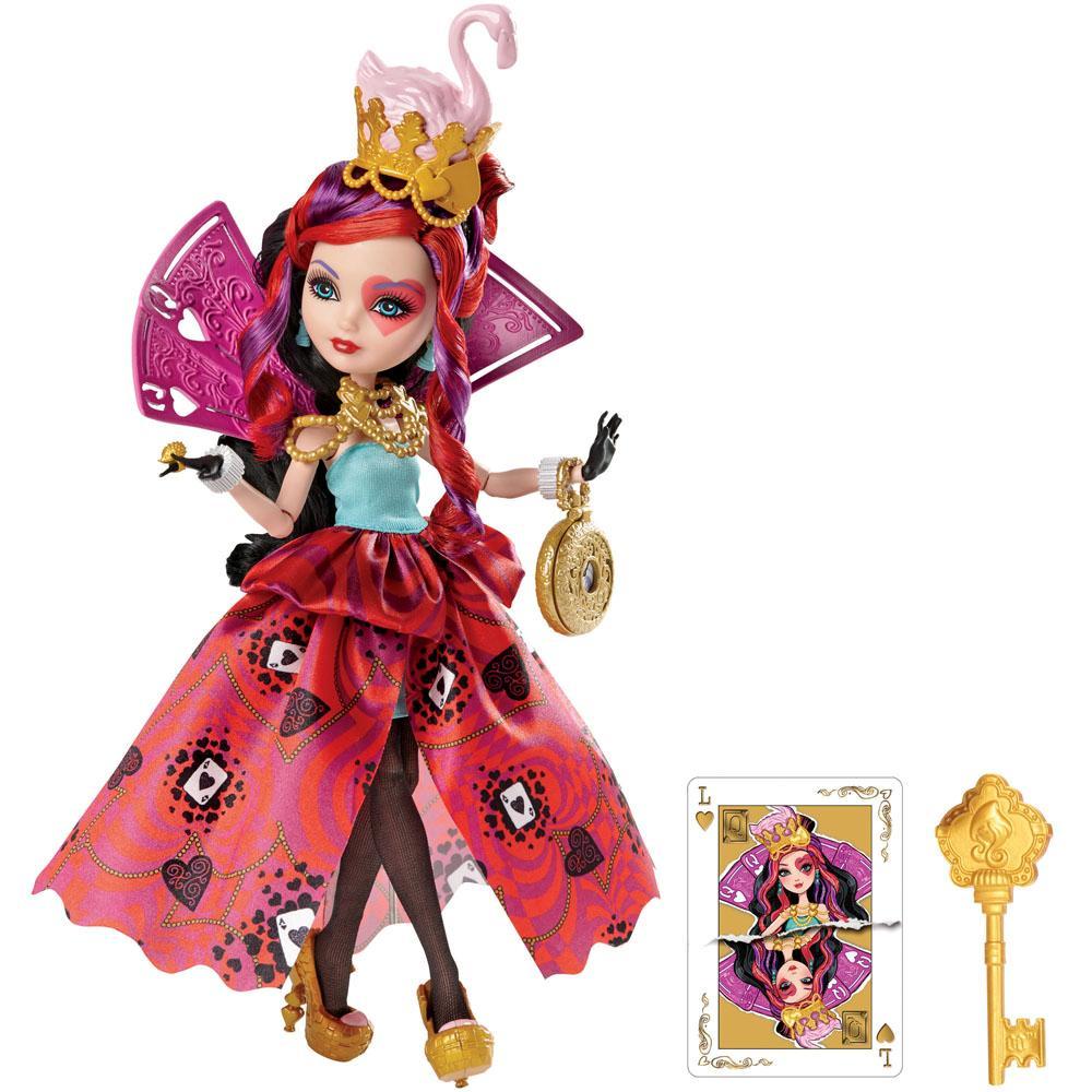 Boneca Ever After High Mattel País Das Maravilhas Lizzie Hearts