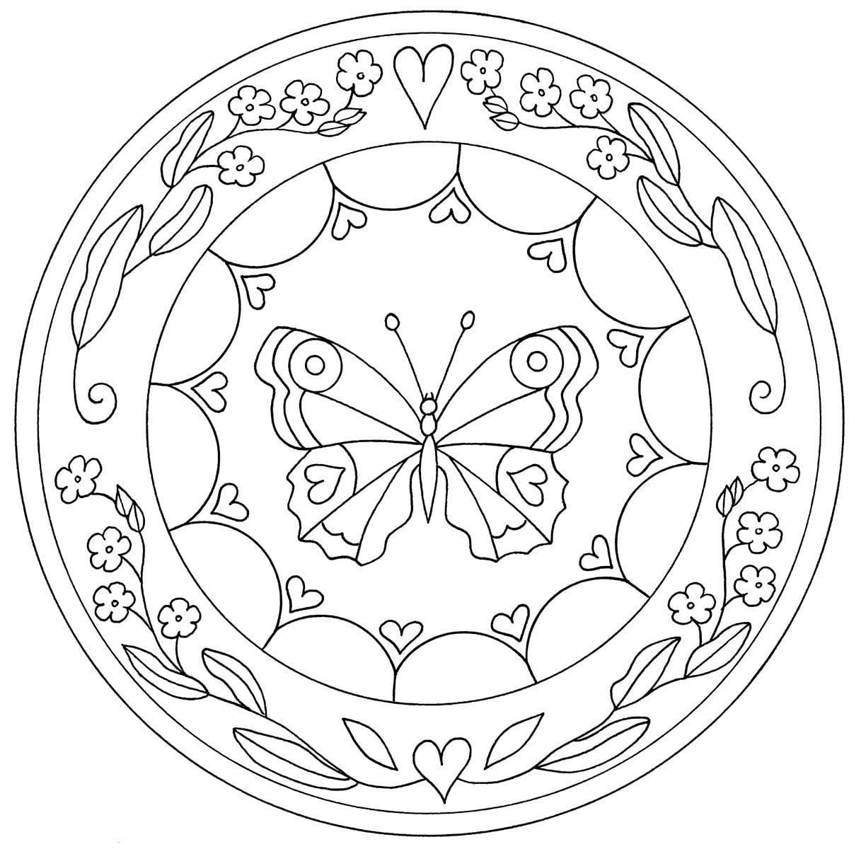 40 Desenhos De Mandala Para Colorir, Pintar, Imprimir! Riscos