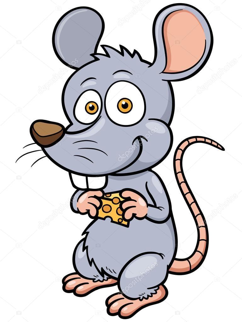 Rato Do Desenho Animado — Vetores De Stock © Sararoom  38042345