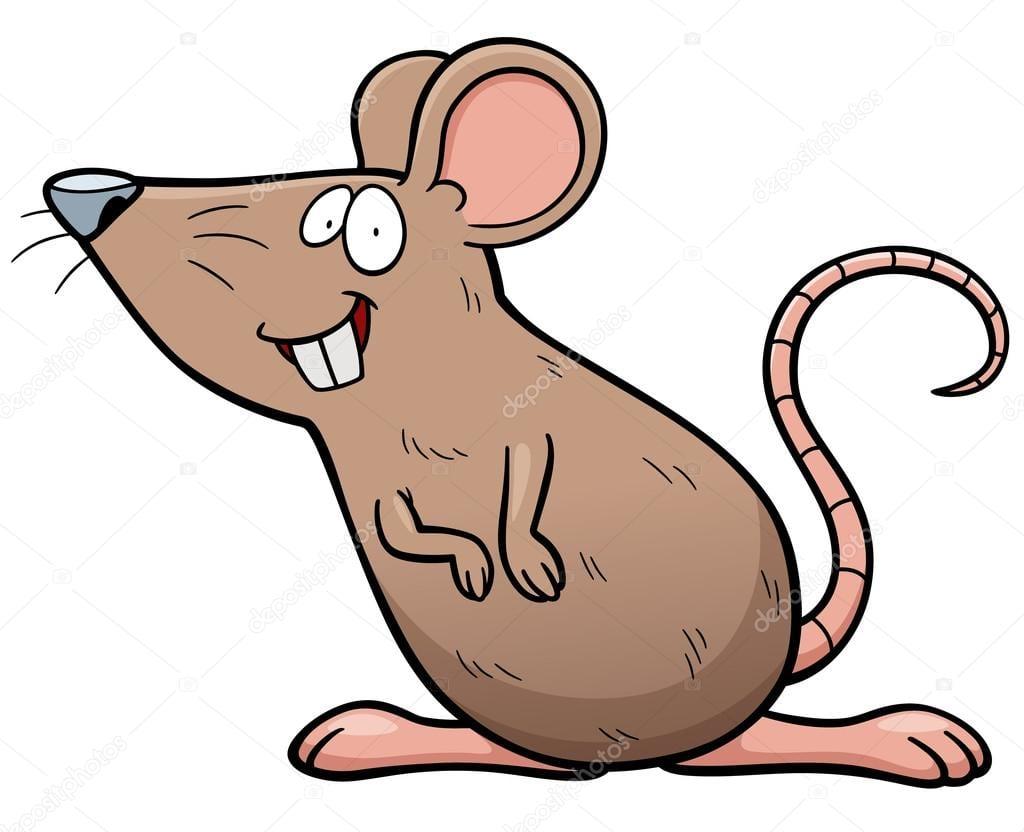 Desenho De Rato — Vetores De Stock © Sararoom  83292962