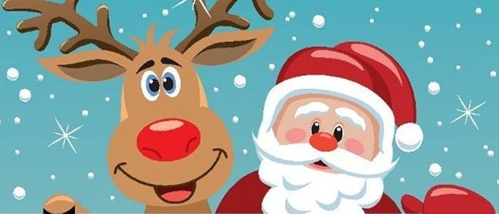 Imagem De Papai Noel Para Imprimir