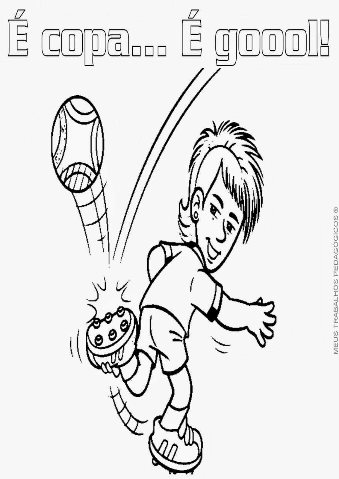 Desenhos Do Neymar Para Colorir