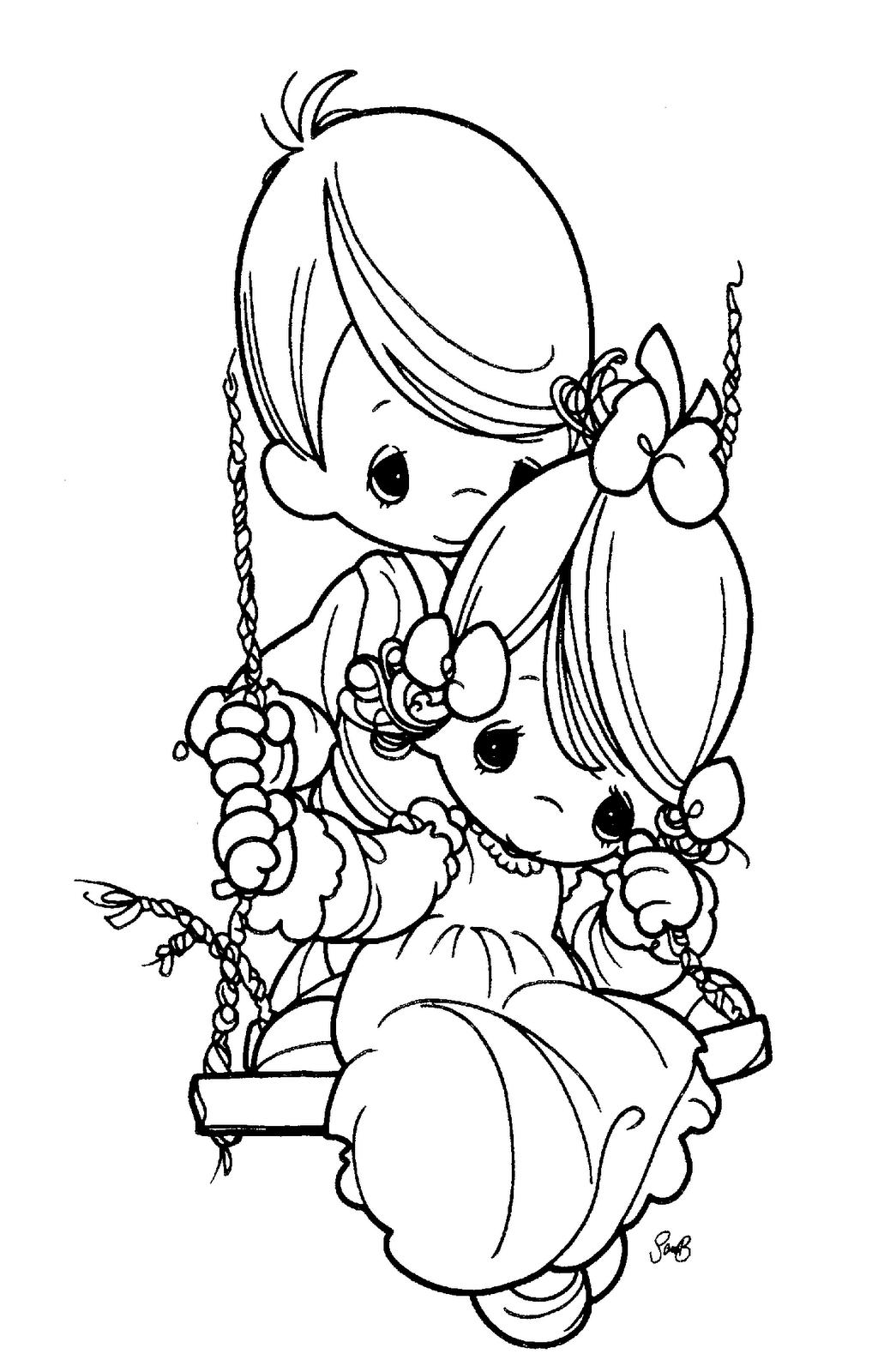 Desenhos De Amigos E Amizade Para Colorir, Pintar, Imprimir