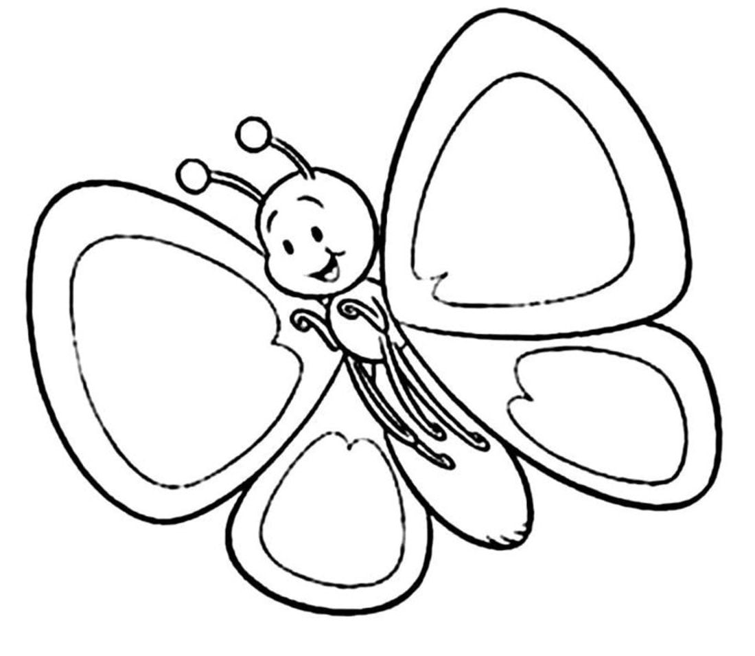 Desenhos De Borboletas Grandes – Pampekids Net