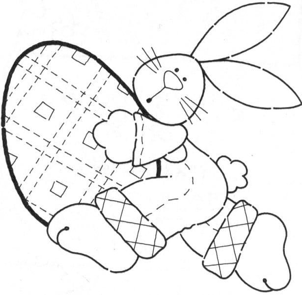 Desenhos De Pascoa Para Imprimir  Desenhos Para Imprimir E Colorir