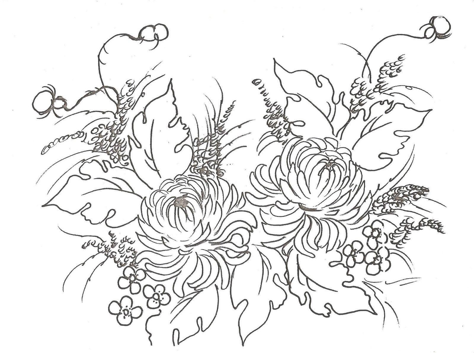 Desenhos De Rosas Para Imprimir – Pampekids Net