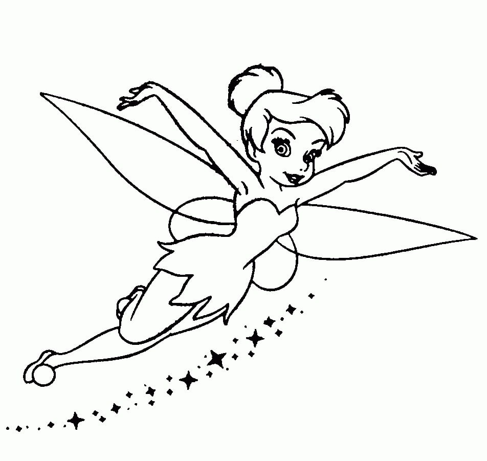 Desenhos De Tinker Bell Sininho Para Colorir Jogos De Pintar E