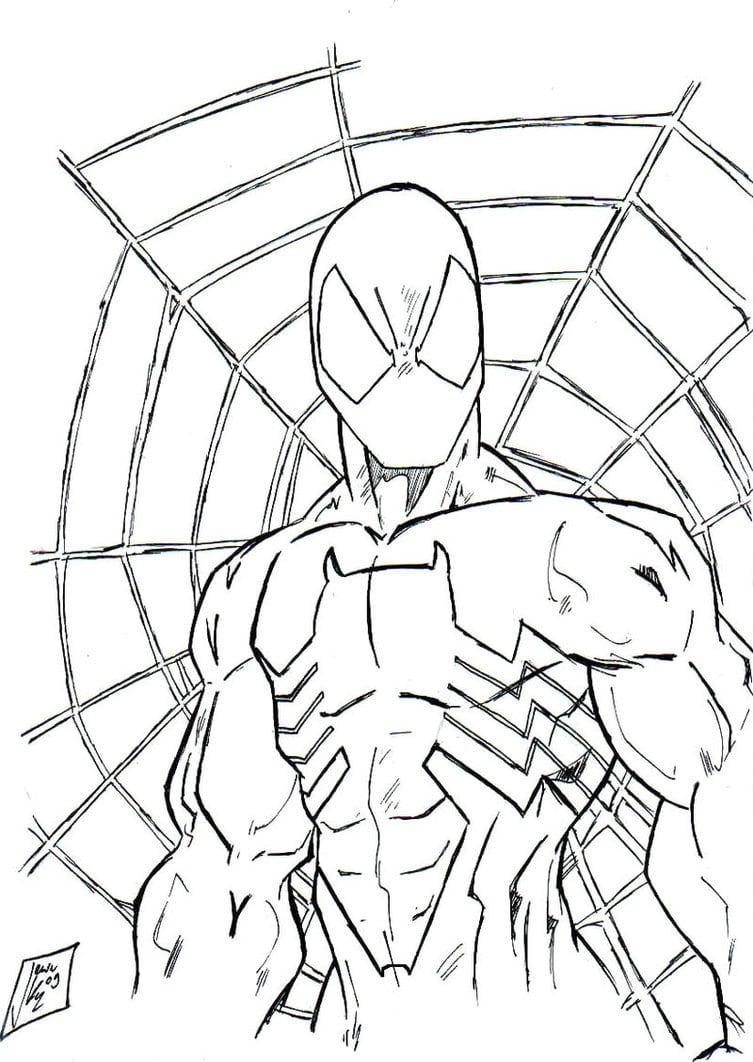 Desenhos De Spider Man Ou Spiderman Para Colorir