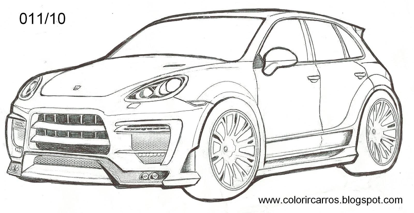Desenhos De Carros Esportivos