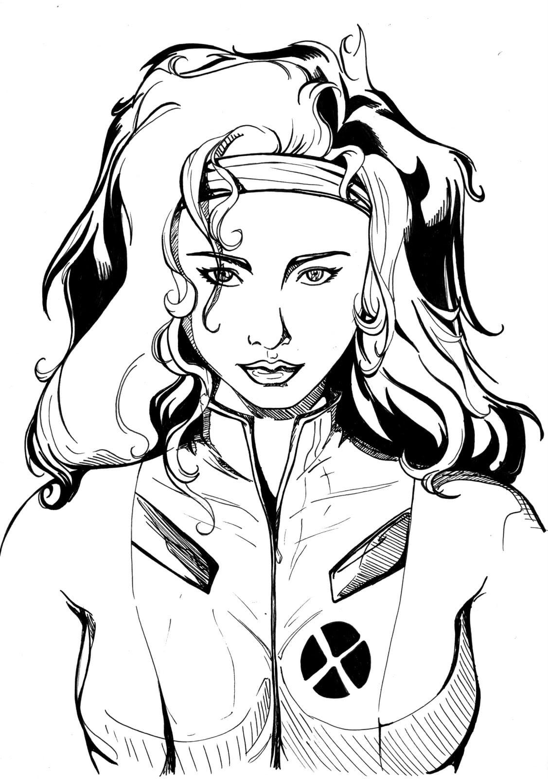Desenhos Para Colorir Colorir X Men Evolution Pagina 6 – Pampekids Net