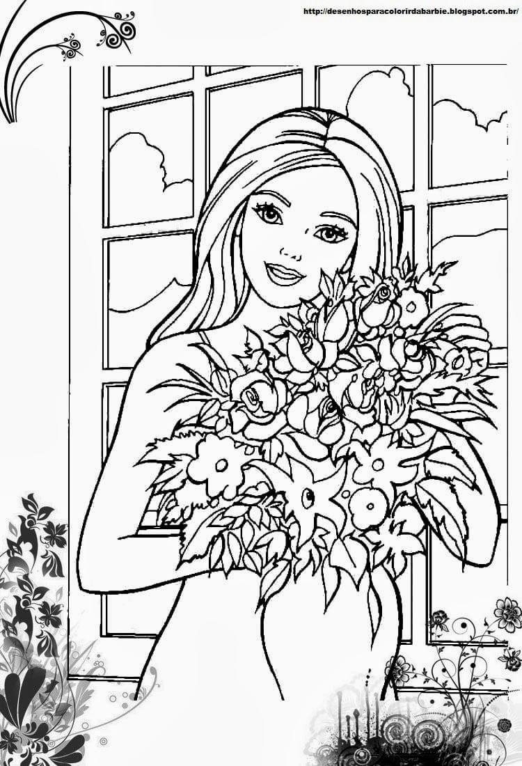 Desenho De Buque De Flores