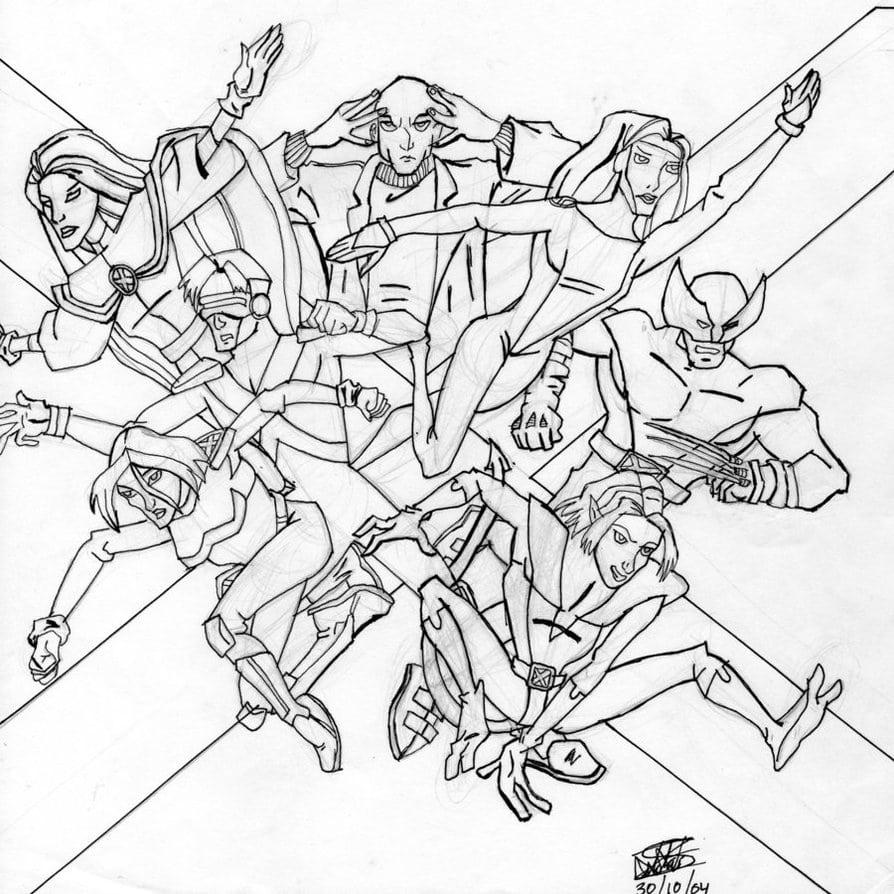 Desenho Do X