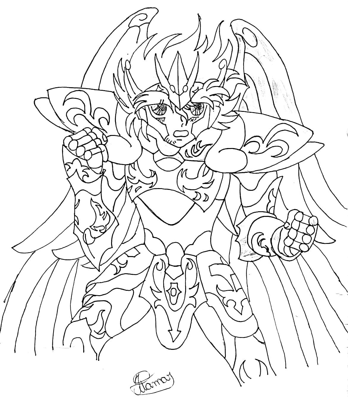 Desenhos Para Colorir Cavaleiros Do Zodiaco