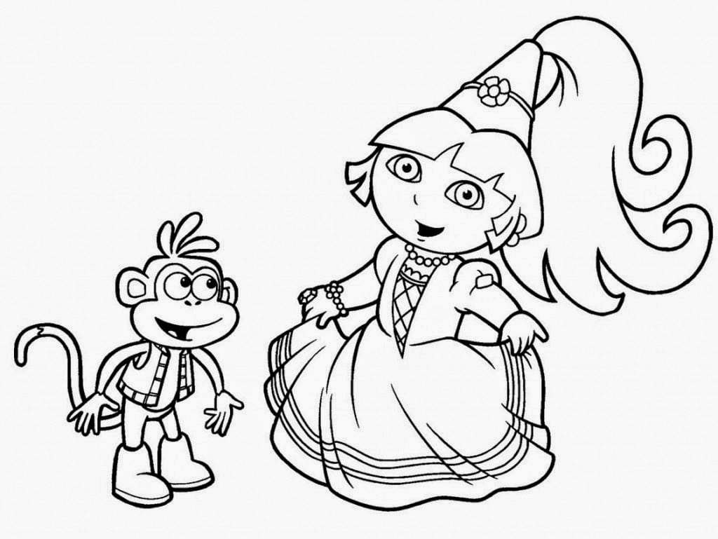Imprimir Desenhos Da Dora – Pampekids Net