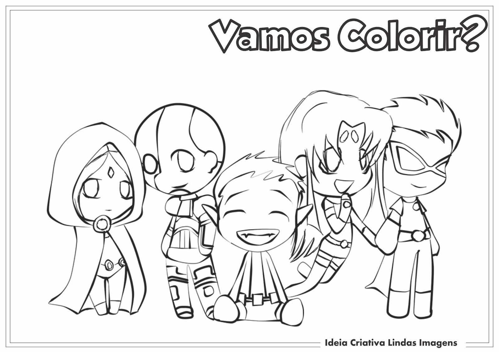 Desenhos Para Colorir Para Jovens