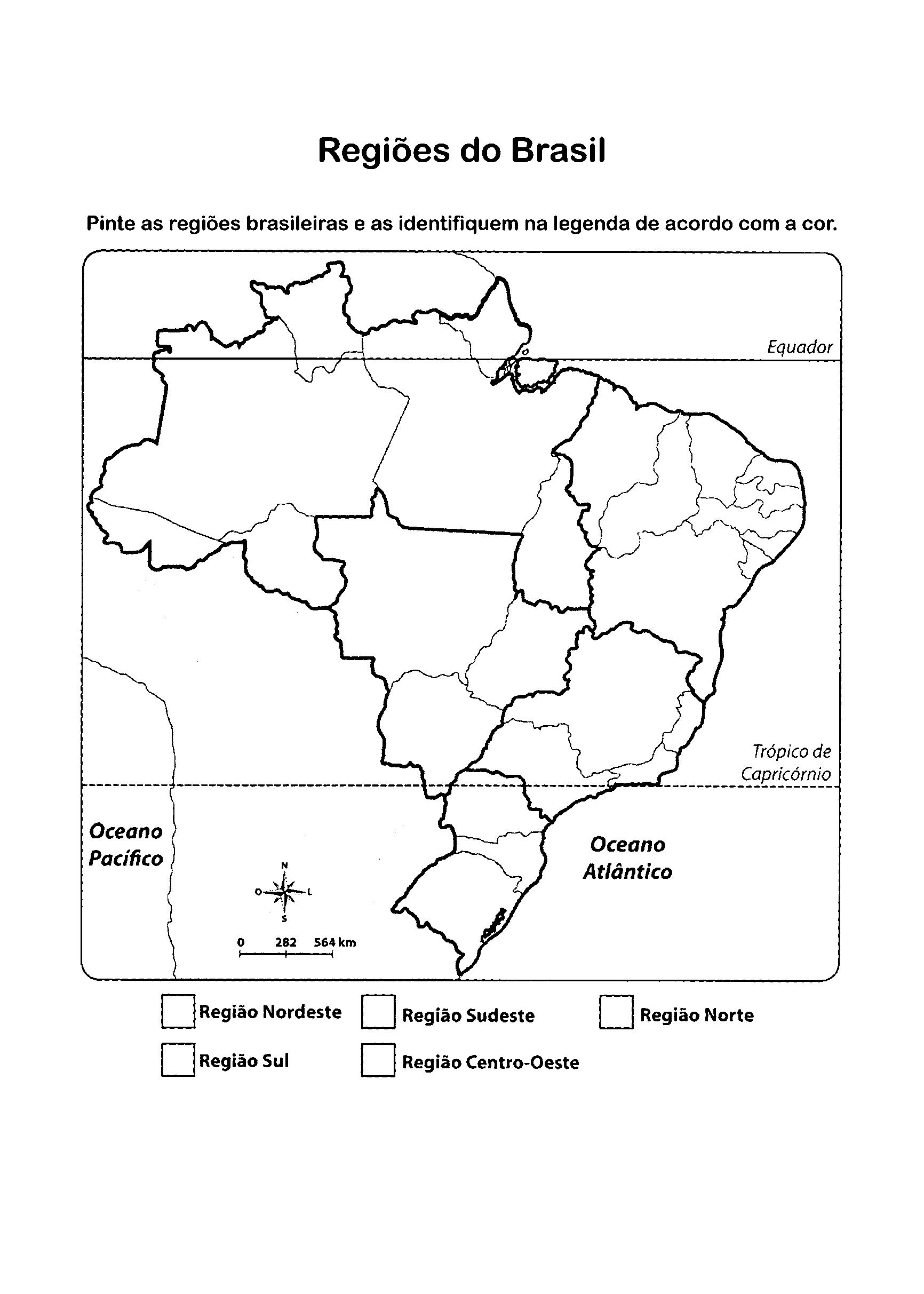 Pintar Desenhos Brasil