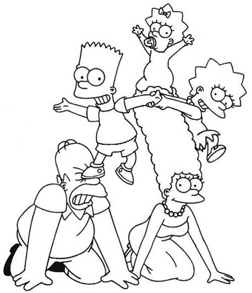 Pintar Imagens Os Simpsons