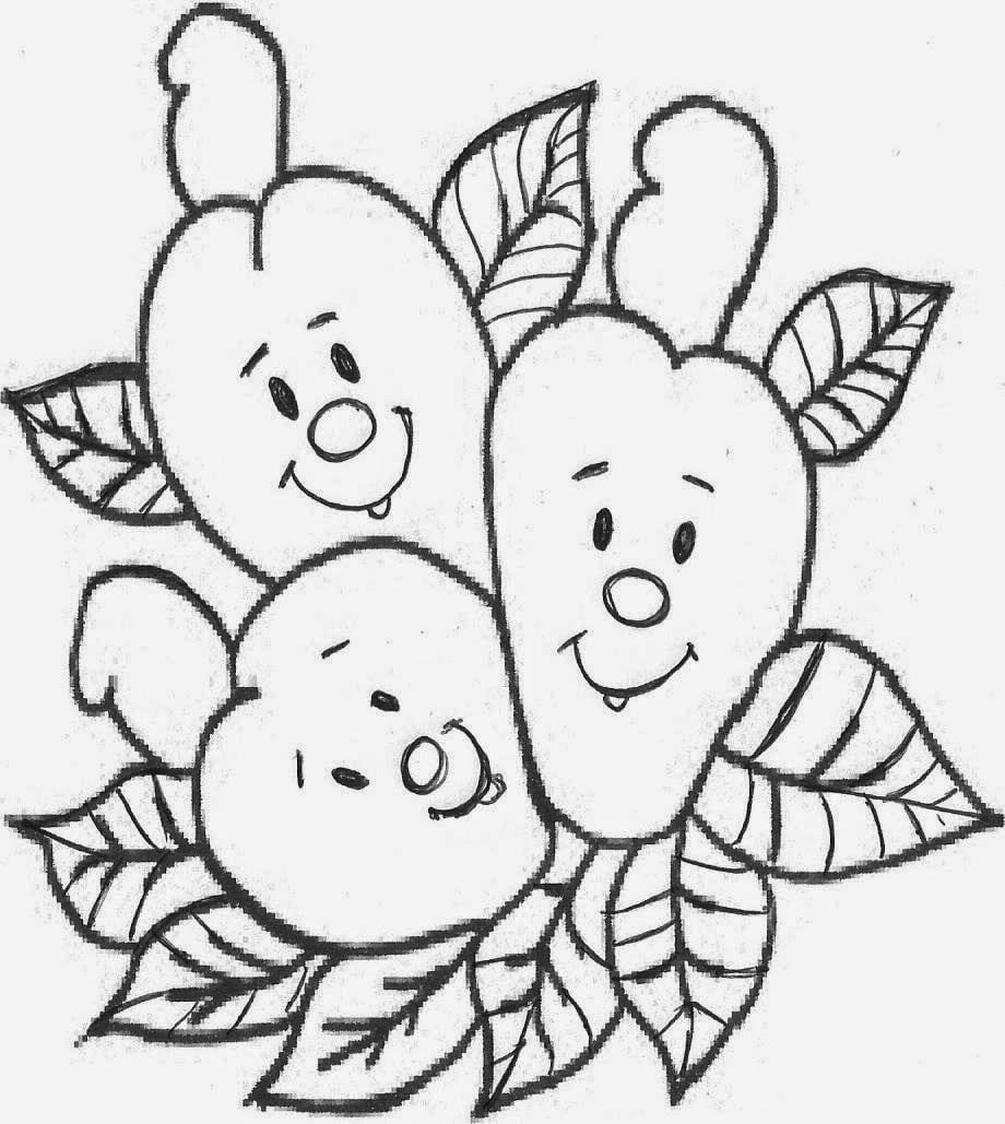 Evangeliza! Caju Animado Para Colorir – Pampekids Net