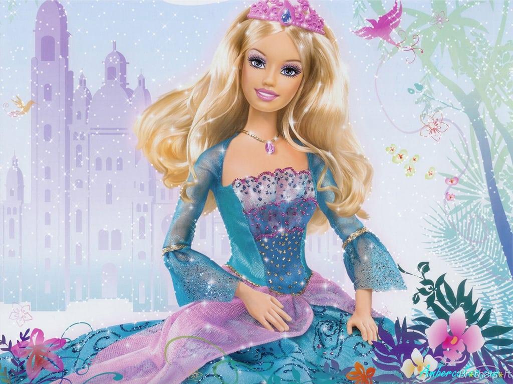 Baú De Figuras  Figuras Da Barbie