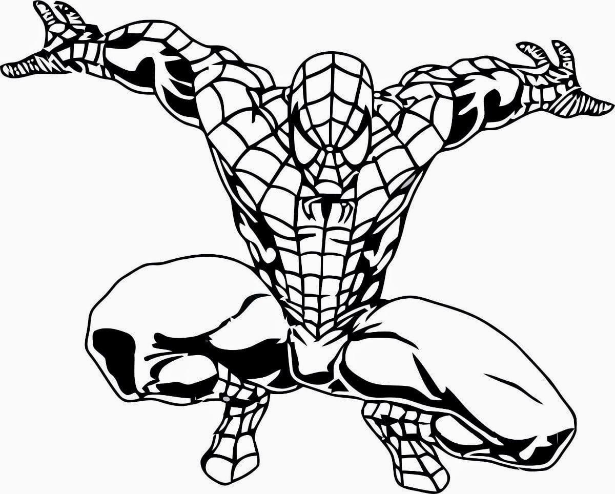 Jogo Desenhos Do Homem Aranha Para Colorir E Imprimir – Spiderman
