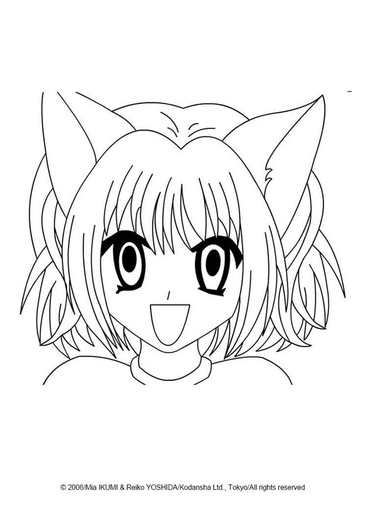 Desenhos Para Colorir De Manga