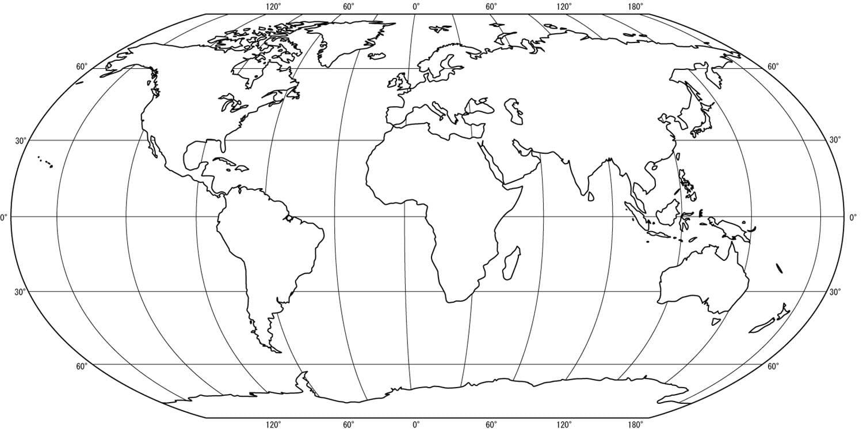 Mapa Mundi Para Imprimir E Colorir – Pampekids Net