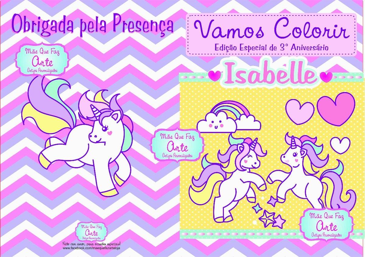 Livro De Colorir Unicornio Para Pra Adolescentes On Chip And Dale