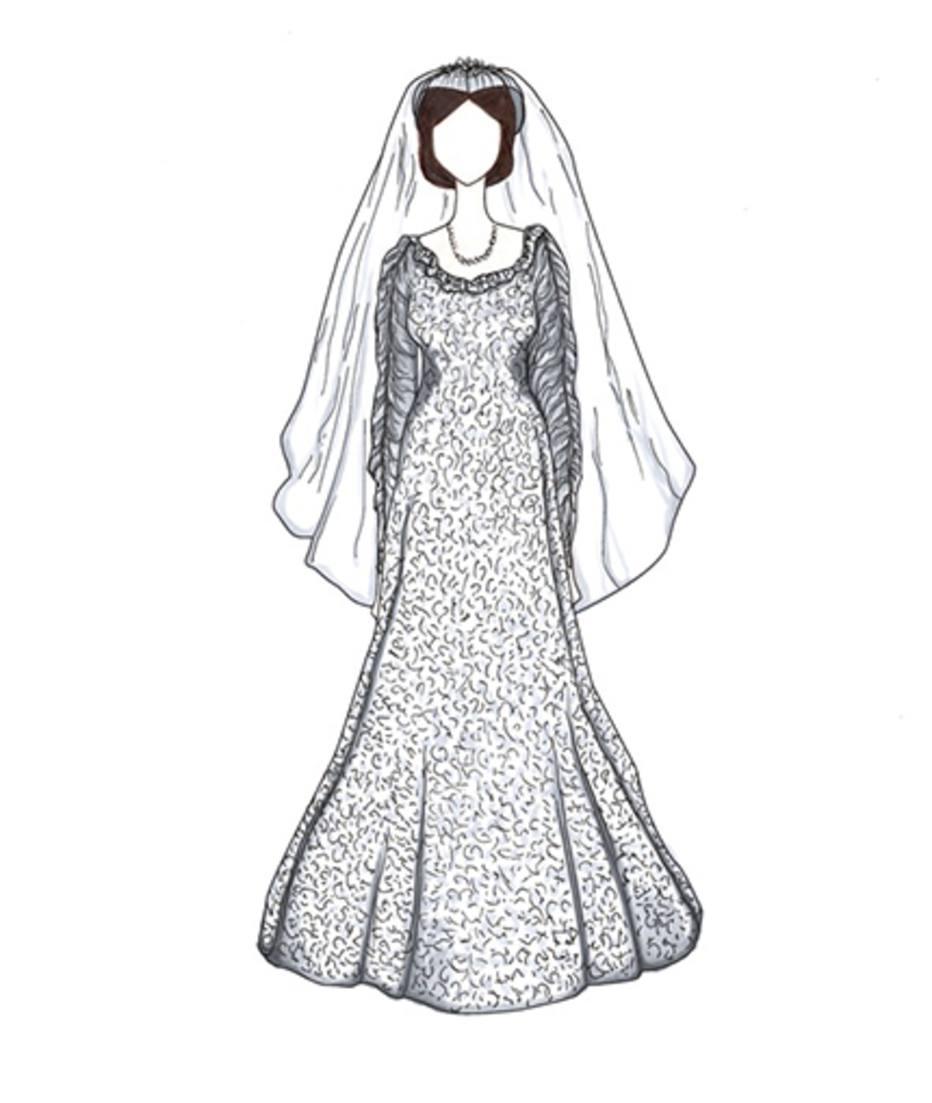 Desenhos Dos Vestidos De Noiva Das Famosas