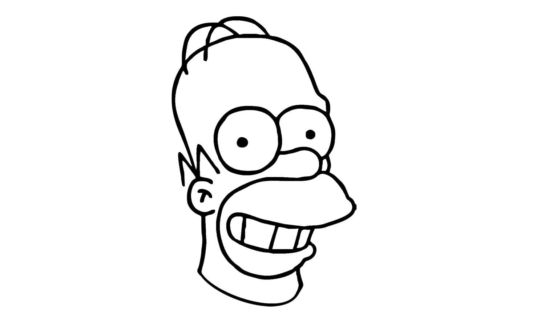 Como Desenhar O Homer Simpson De Os Simpsons