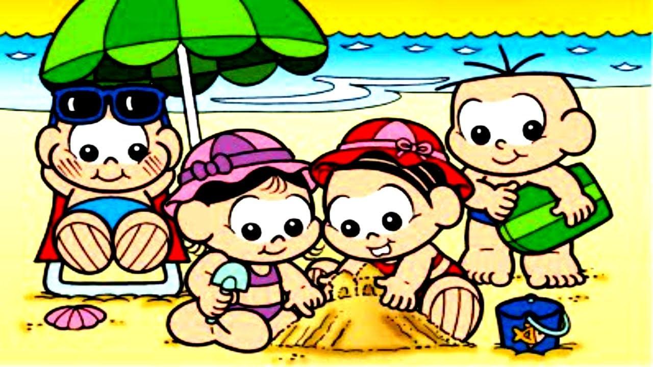 Turma Da Mônica Completo Desenhos Turminha Baby 2016 Cascão Magali