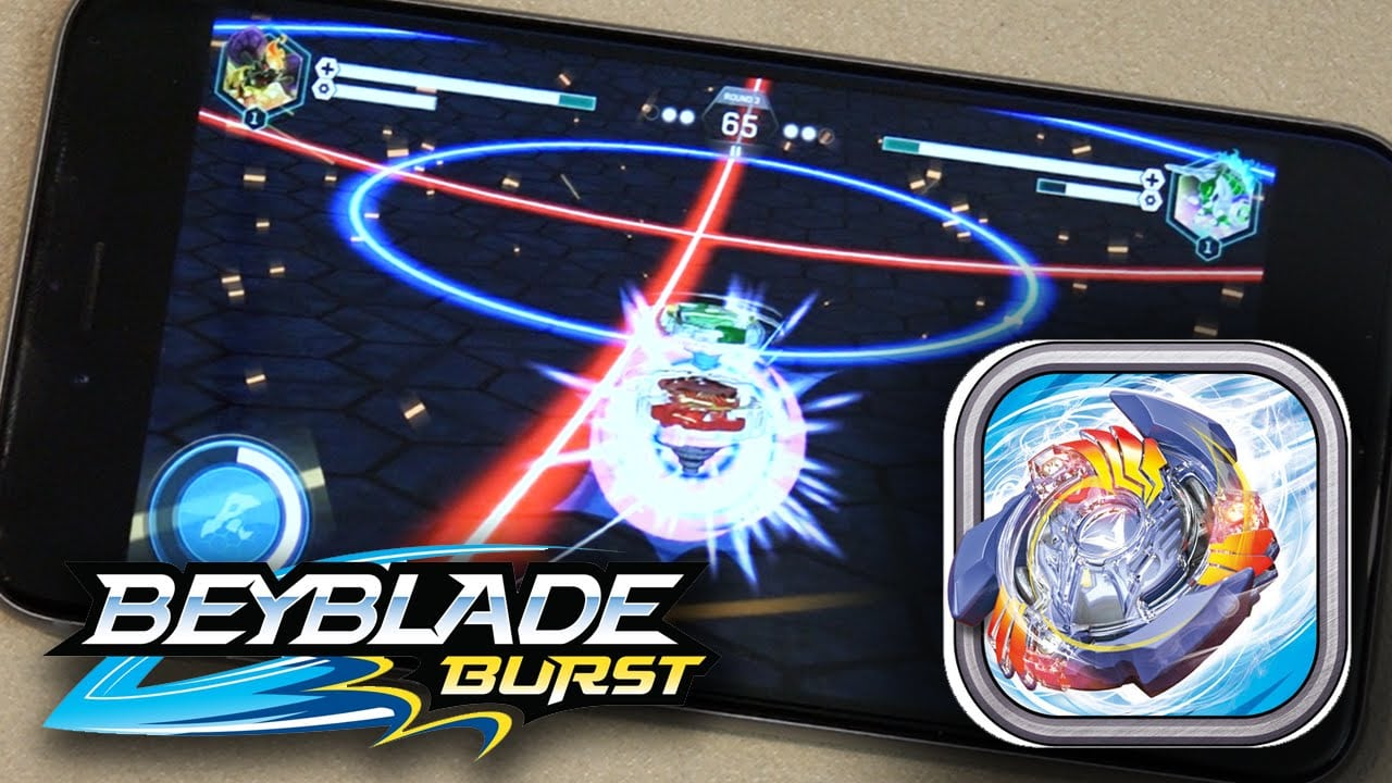 Beyblade Burst Game Gameplay & Review!
