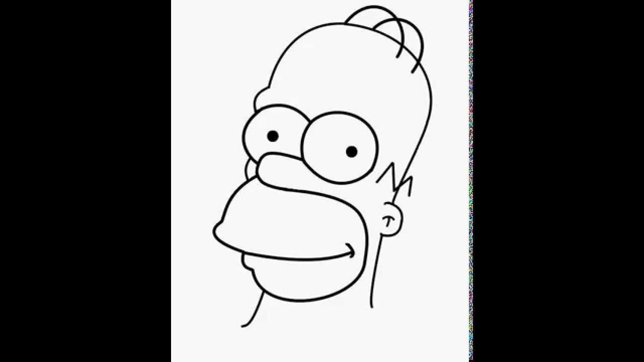 Como Desenhar Homer Simpson (the Simpsons)