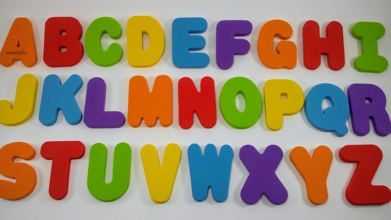 Aprender As Letras Do Alfabeto Em Português