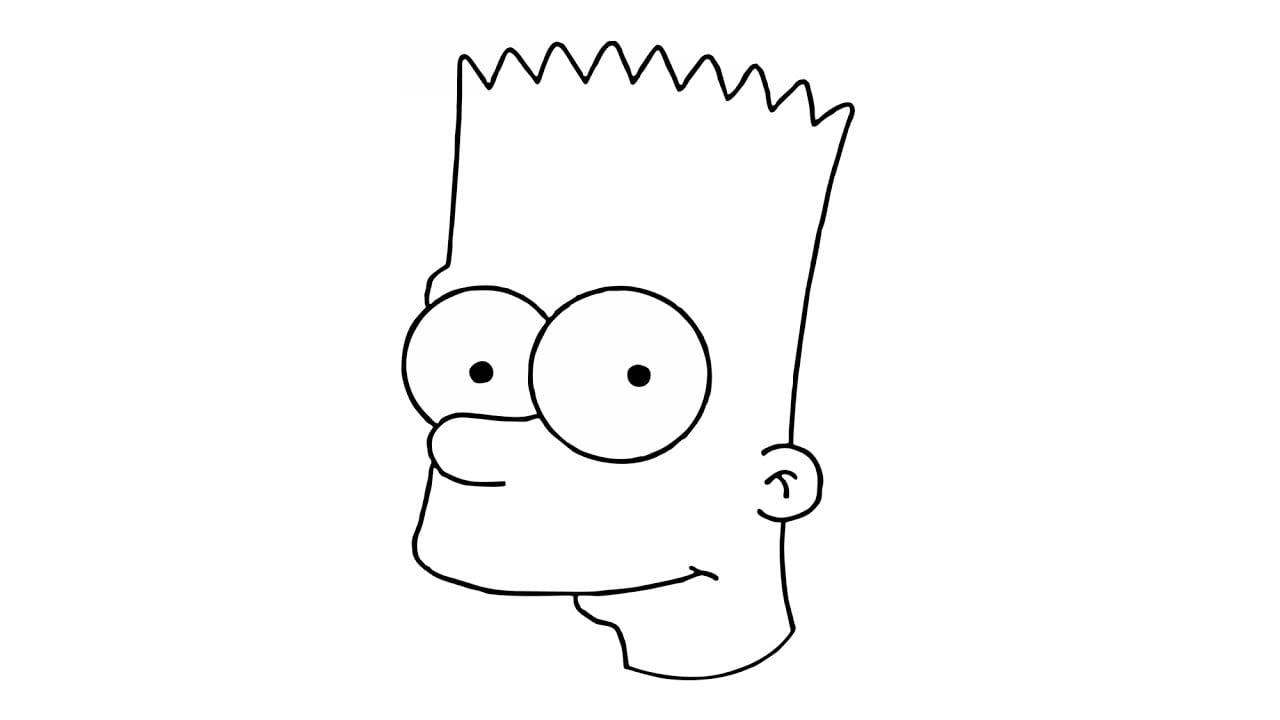 Como Desenhar O Bart Simpson De Os Simpsons