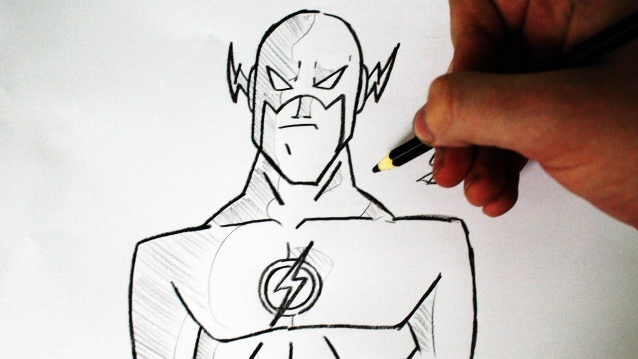 Como Desenhar O Flash [jlh Animated Series ]