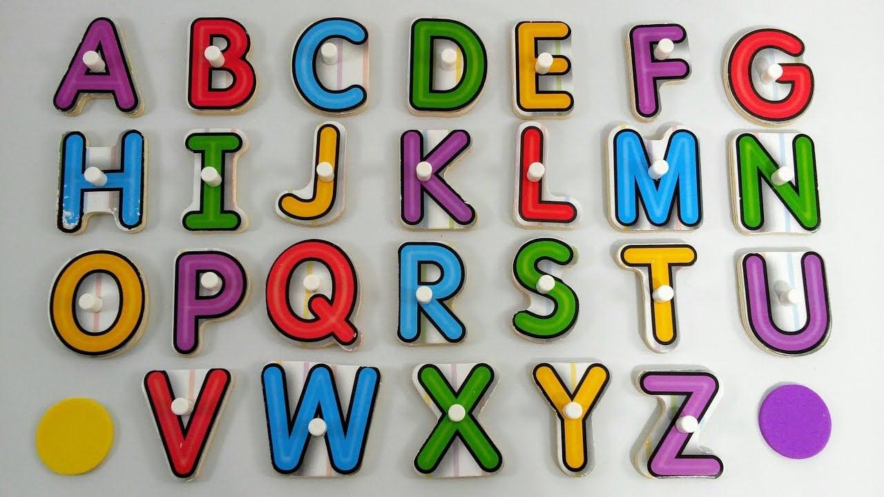 Aprender As Letras Do Alfabeto