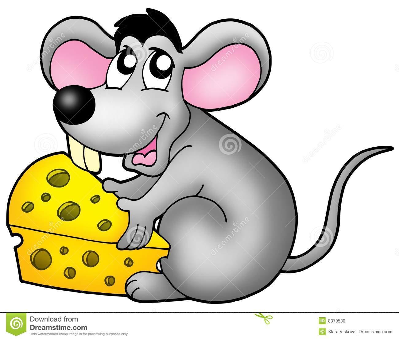 Ator Do Rato Dos Desenhos Animados Ilustração Stock