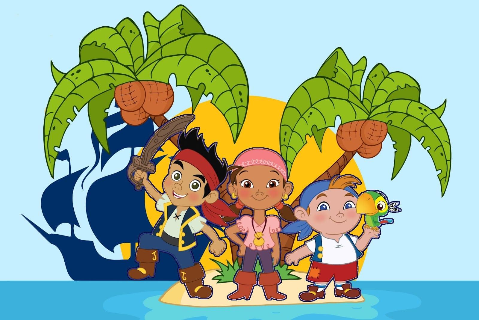 Desenhos  Jake E Os Piratas Da Terra Do Nunca
