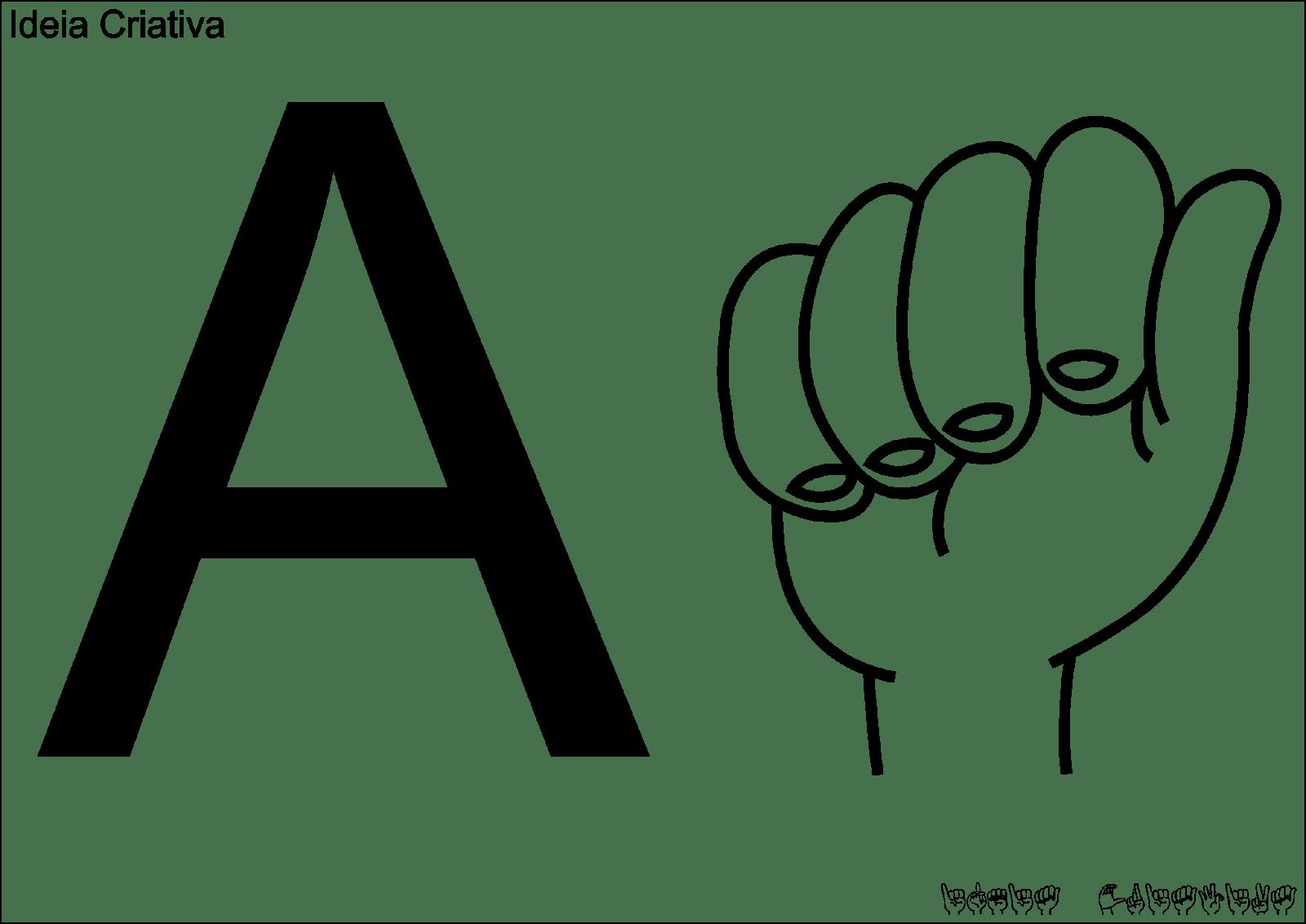 Alfabeto Libras Para Imprimir GrÁtis (25)