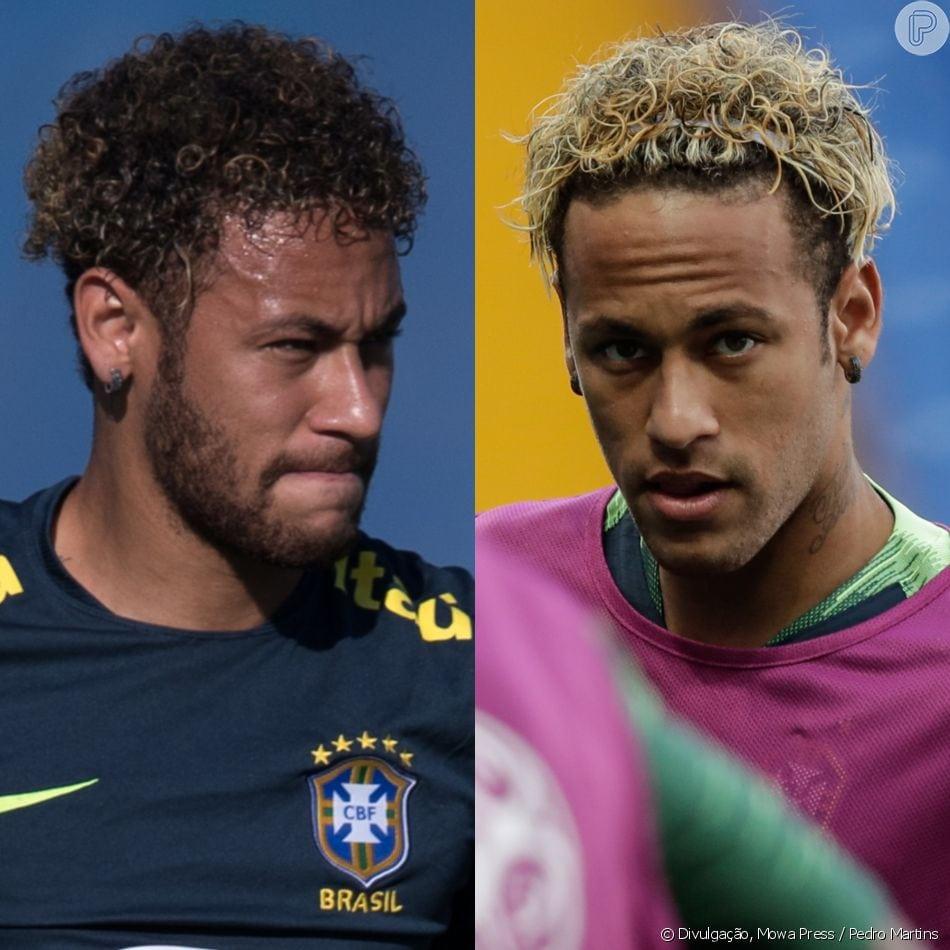 Neymar Pinta Cabelo De Loiro Antes De Jogo Do Brasil Na Copa Do