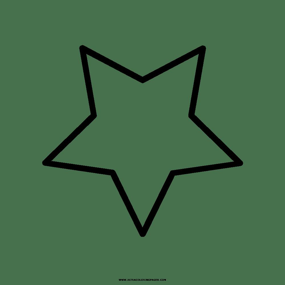 Estrela Desenho Para Colorir