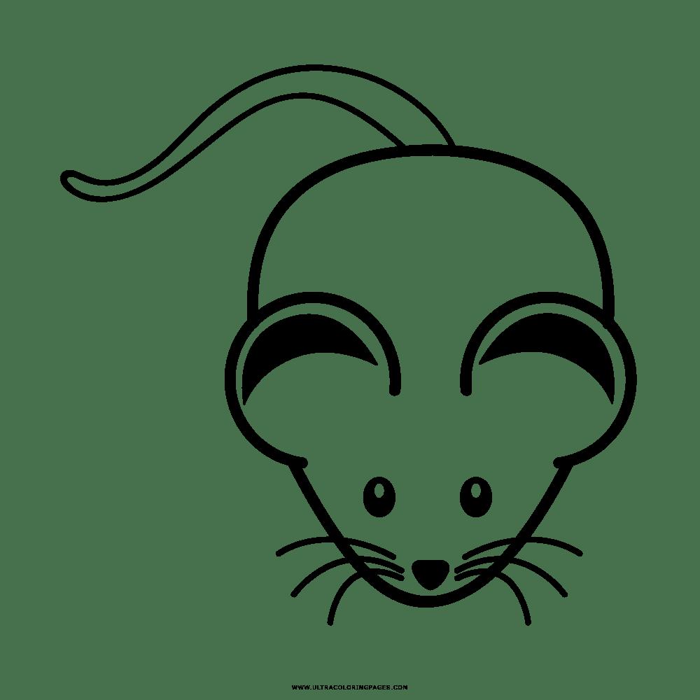 Rato Desenho Para Colorir