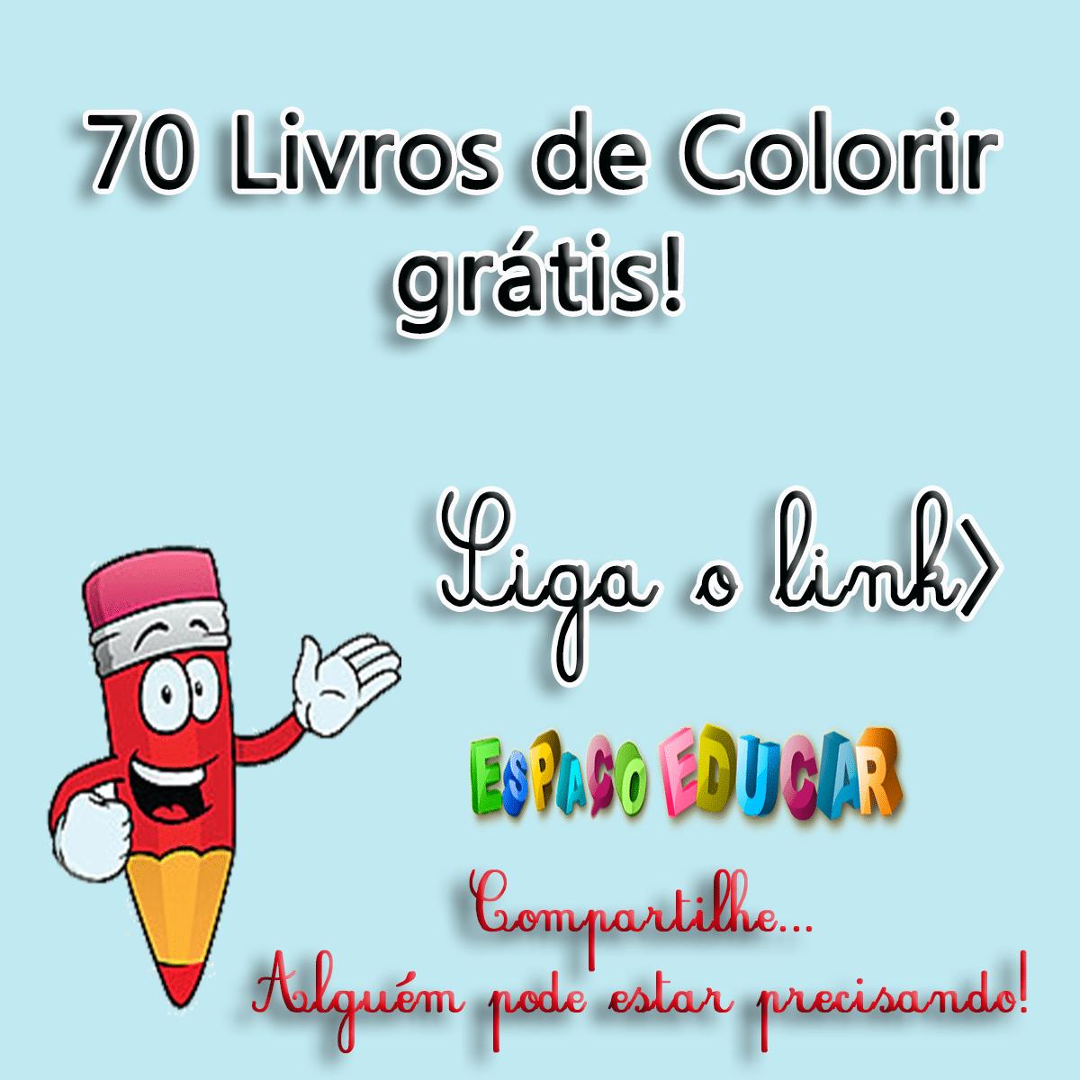 70 Livros De Colorir Grátis! Livros Com Atividades Ou Histórias
