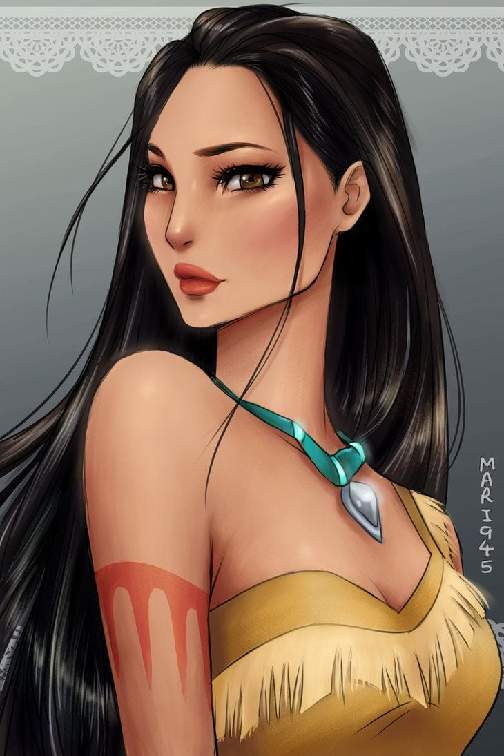 Pocahontas By Mari945 On Deviantart