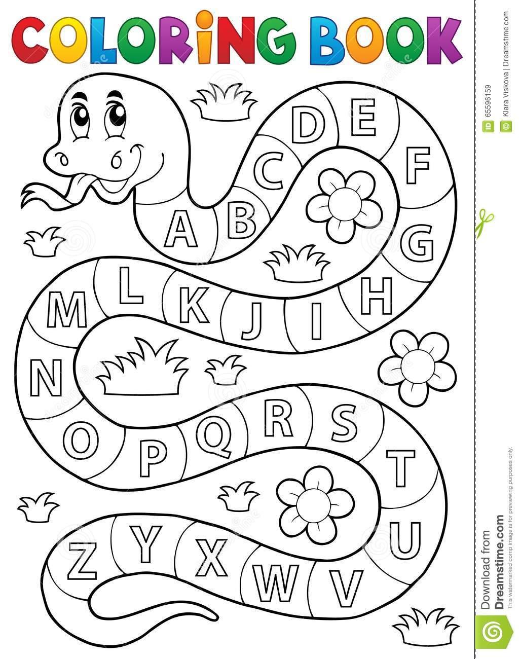 Alfabeto Para Colorir – Pampekids Net