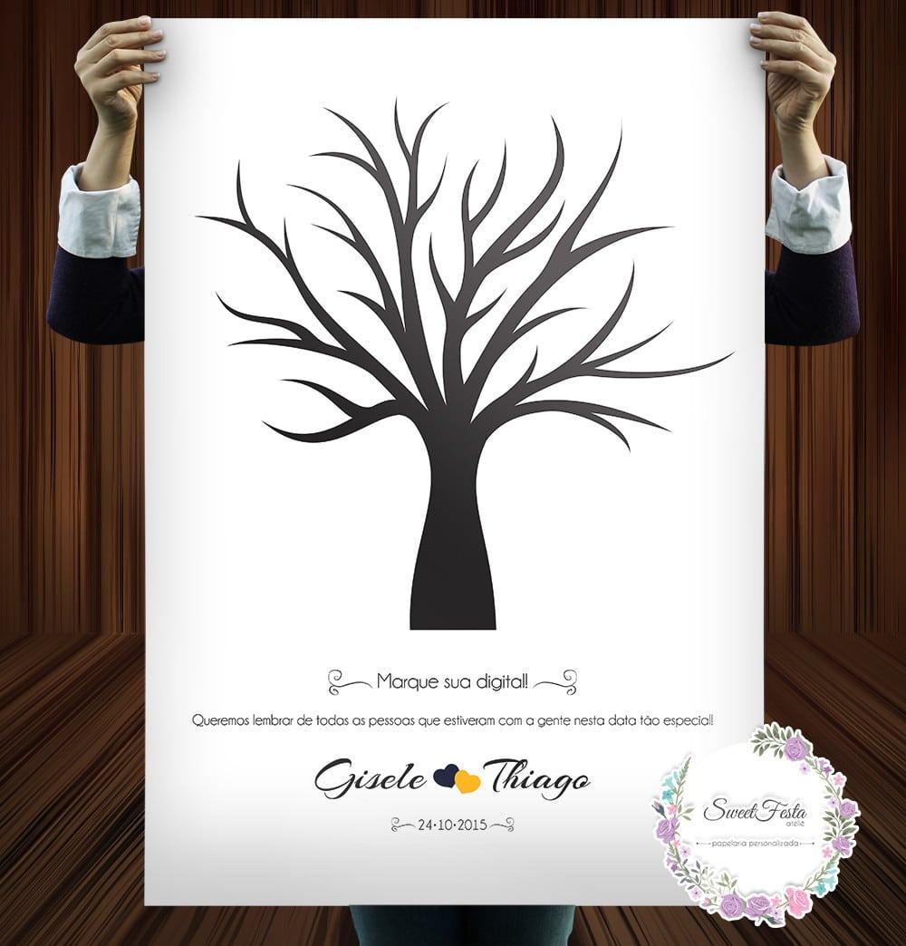 Árvore De Assinaturas Para Imprimir No Elo7