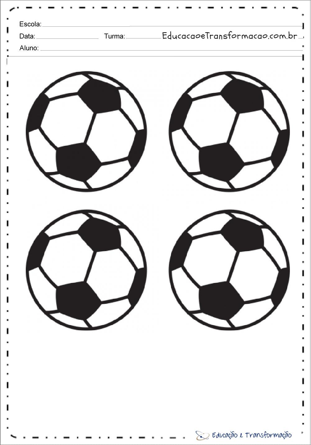 Desenhos Para Colorir Copa Do Mundo 2018