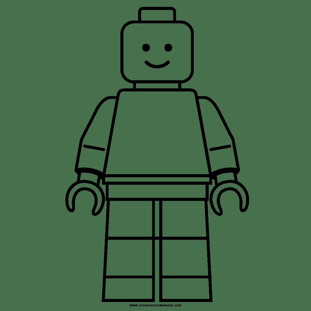 Lego Desenho Para Colorir