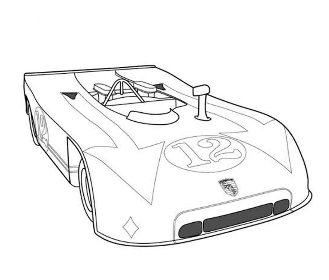 Carro De Corrida Porsche    Fotos E Imagens