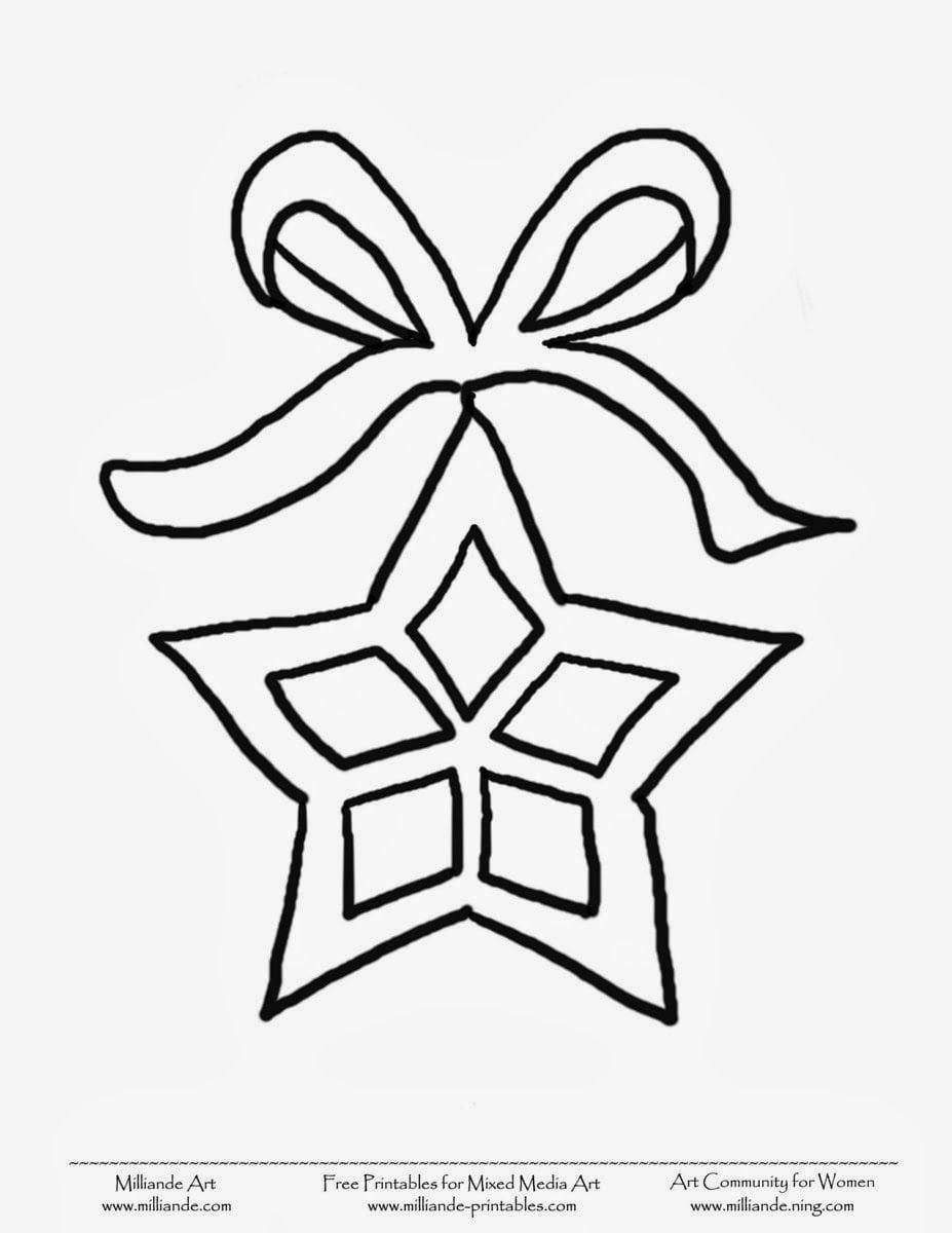 Estrelas De Natal Para Colorir E Imprimir Pintar Desenhos